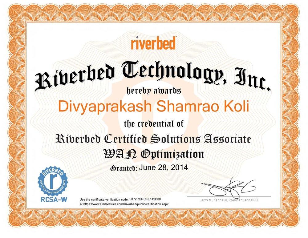 Riverbed Certified Solutions Associate - WAN Optimization certificate-page-001.jpg