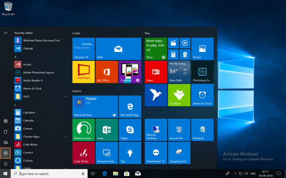 Activate Windows 10 Pro for Workstations using valid Product Key