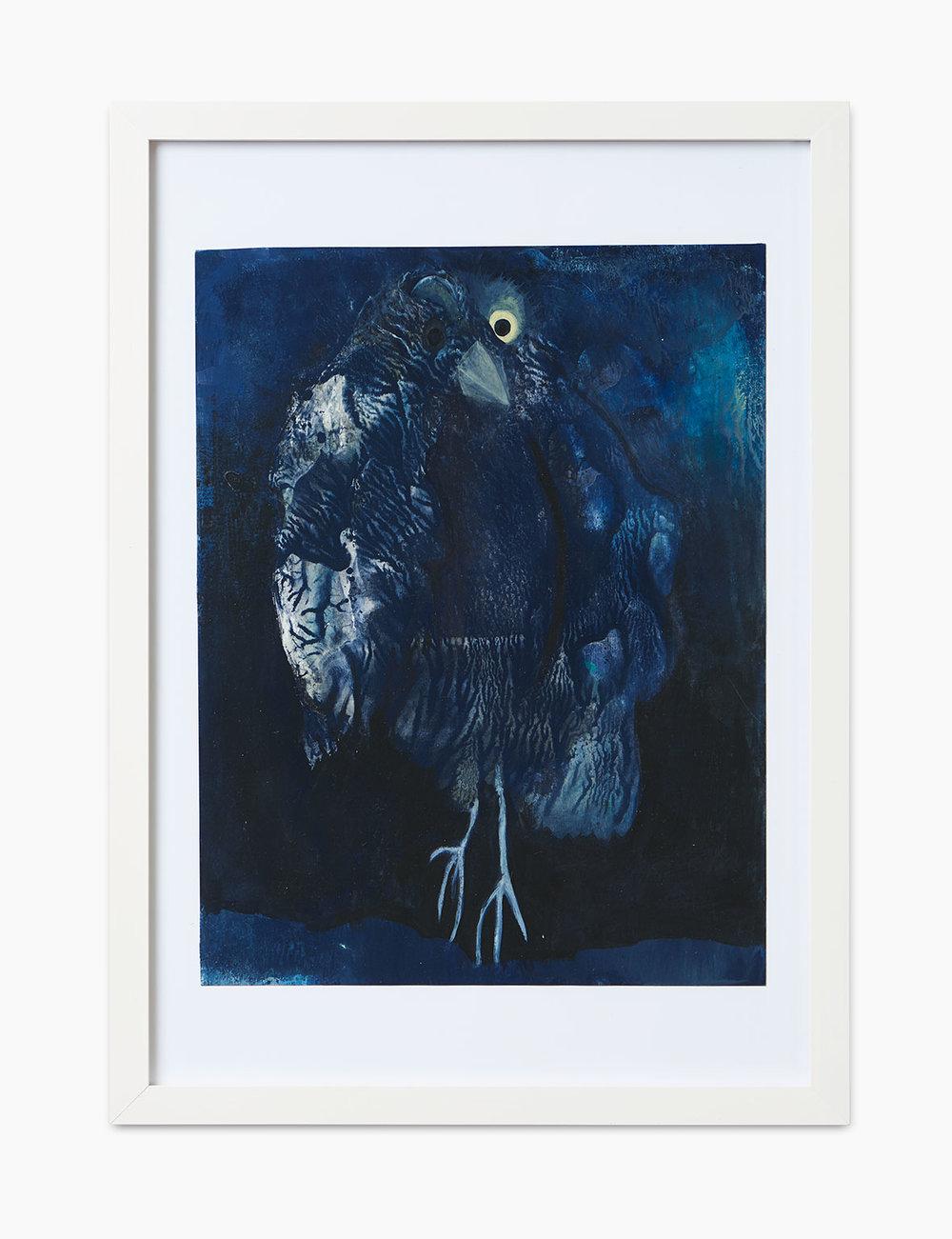 Max Marion Kober Ohne Titel 2016  Gouache und Acryl auf Papier 32 x 24,5 cm