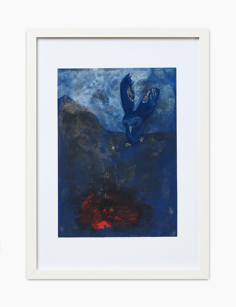 Max Marion Kober Ohne Titel 2016  Gouache auf Papier 30 x 21 cm