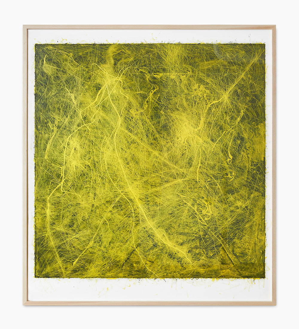 Thomas Arnolds MARB7, i (p) 2016  Öl auf Papier 170 x 153 cm