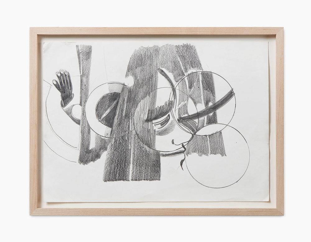 Ralph Schuster Traderjoe 2016  Bleistift auf Papier 21 x 29,7 cm
