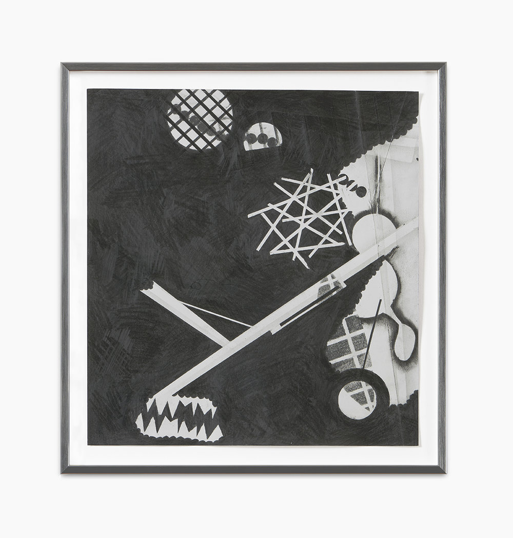 Jochen Arentzen Mit Krücken gegen Regen winkend 2 2016  Graphit auf säurefreiem Römerturm Papier 2-teilig je 32 x 29,7 cm