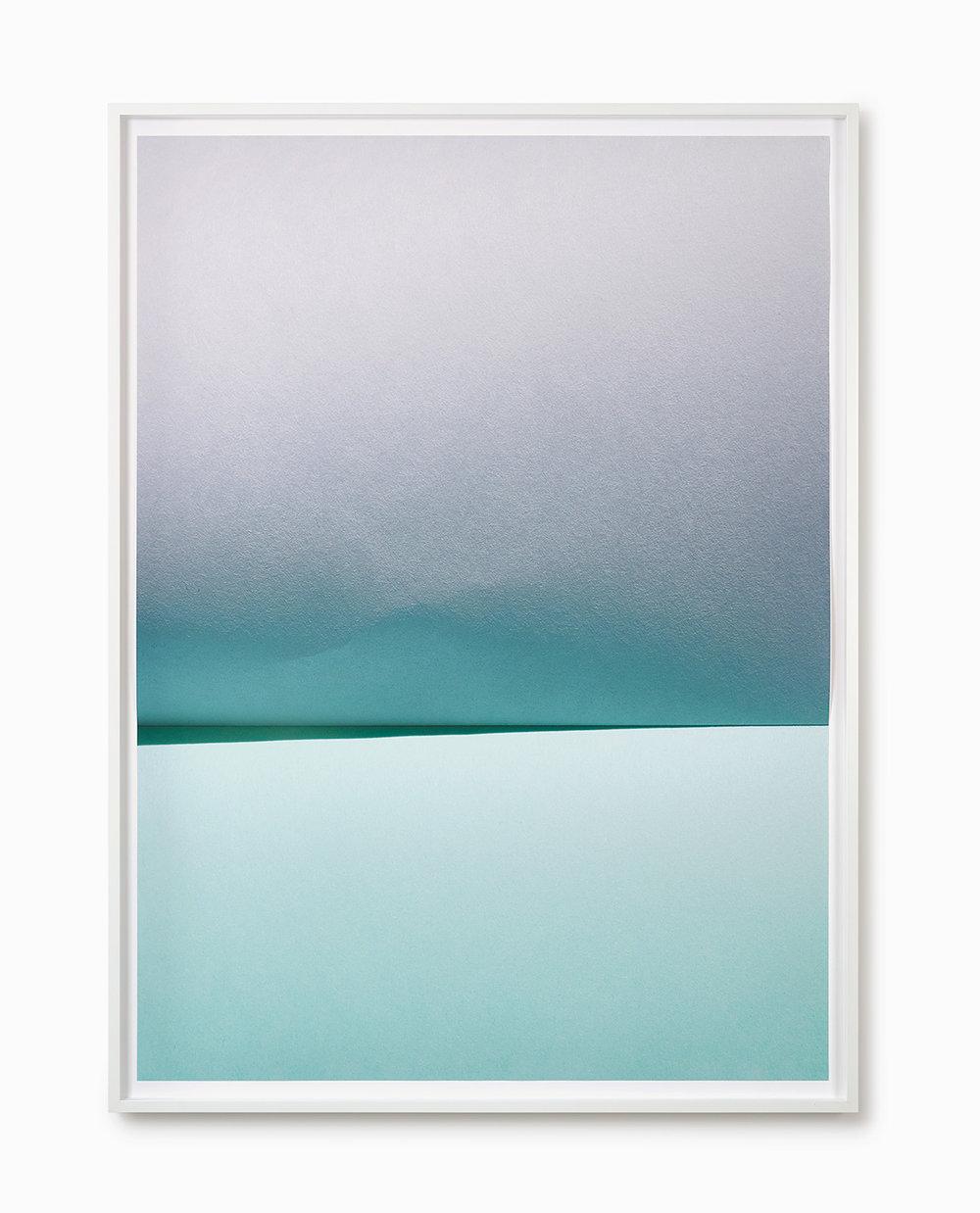 Johanna von Monkiewitsch untitled (15.4.2015 / 13:18) 2016 Pigmentdruck auf Hahnemühle, gefalzt und hinter entspiegeltem Glas gerahmt 160 x 116 cm o.R. / 168 x 125 cm m.R.