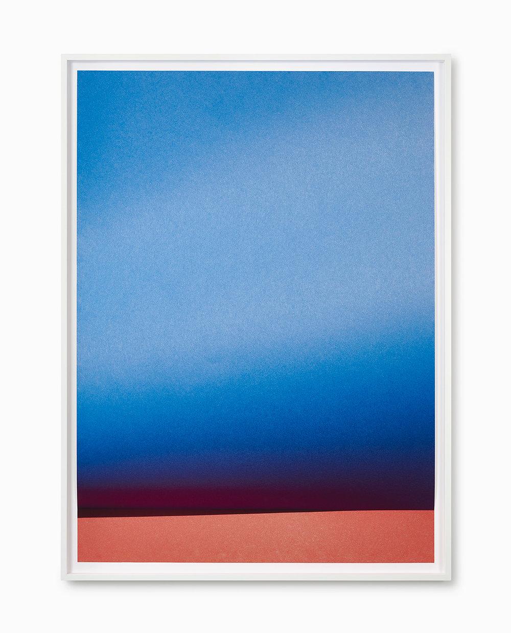Johanna von Monkiewitsch untitled (15.4.2015 / 13:26) 2017 Pigmentdruck auf Hahnemühle, gefalzt und hinter entspiegeltem Glas gerahmt 160 x 116 cm o.R. / 168 x 125 cm m.R.