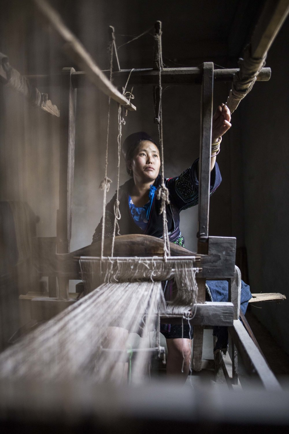Weaving Hemp | Sapa
