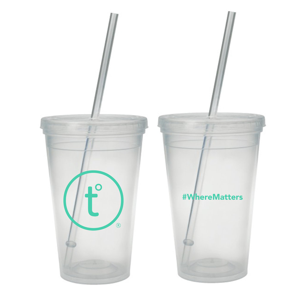 (TO) - HOT & COLD TUMBLER - 45 Points