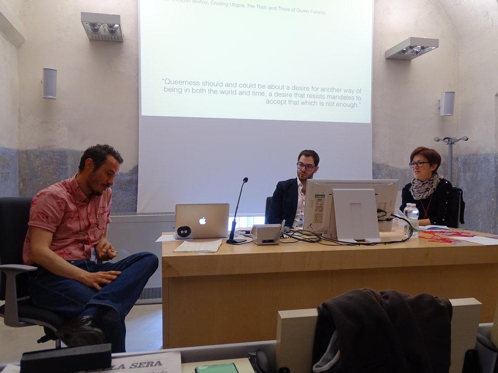 Matthew Zundel e Chiara Bertone
