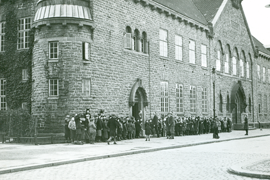 Bergen offentlige bibliotek, oppført 1917. Kilde: Bergen offentlige bibliotek.