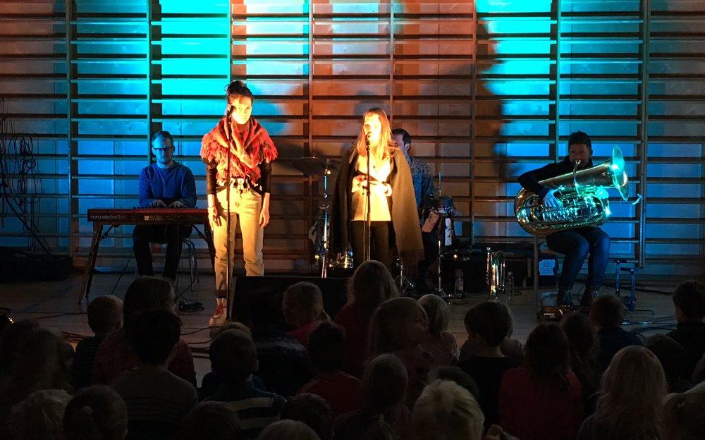Skolekonserten Traante på Strindheim skole