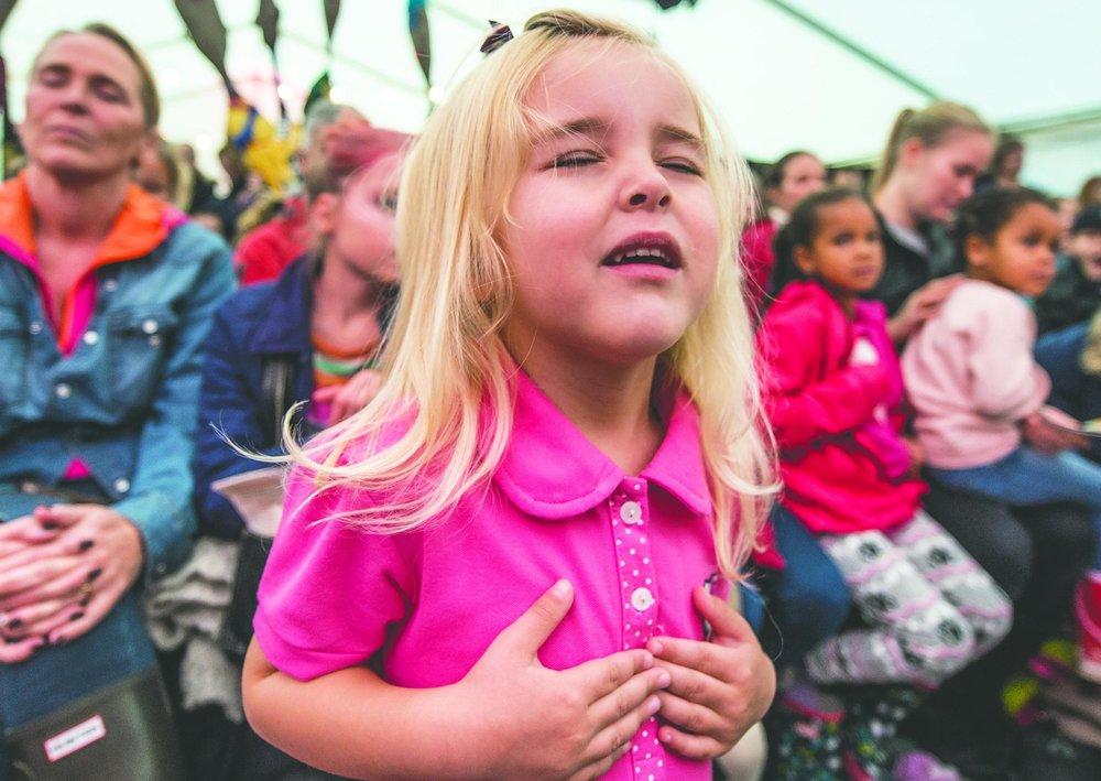 Fra Barnas verdensdager Oslo, grunnlovsjubileet 2014. Foto: Lars Opstad/Kulturtanken
