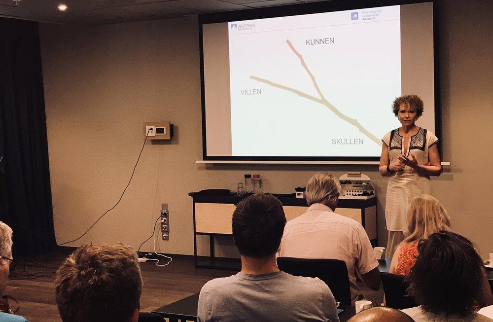 Ann-Cathrin Tessnes beskriver og forklarer ønskekvistmodellen