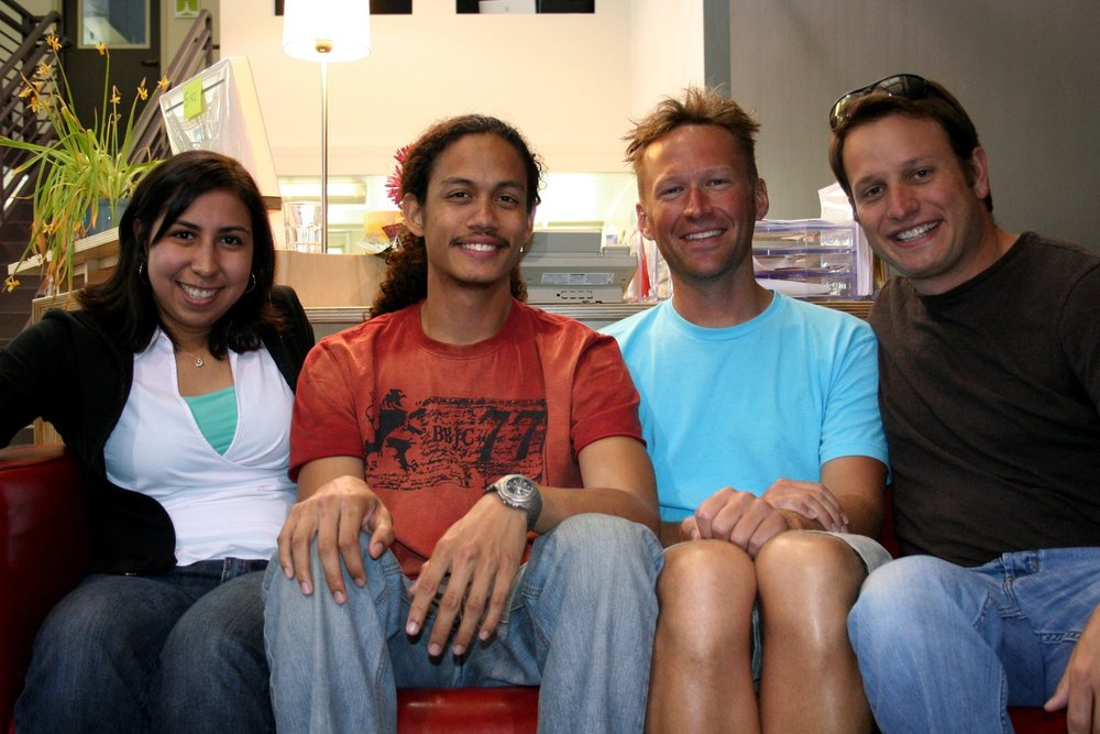 d.school fellows class of 2008-2009 Erica Estrada, Joel Sadler, Scott Witthoft, Corey Ford
