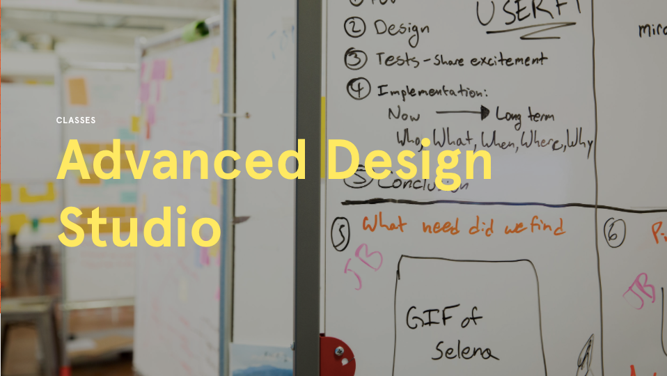 Advanced Design Studio