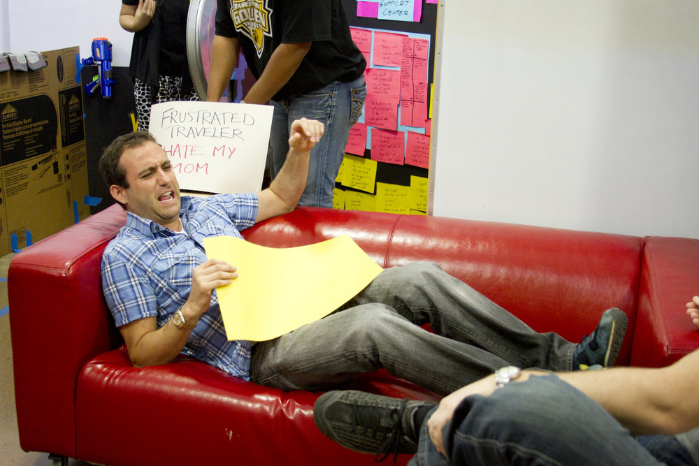 Red Couch has been part of many prototypes