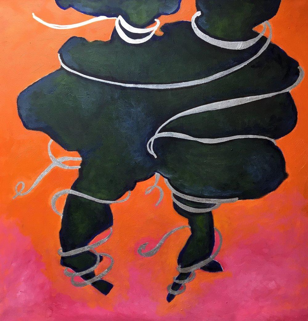 oil on canvas, 50 x 50 cm