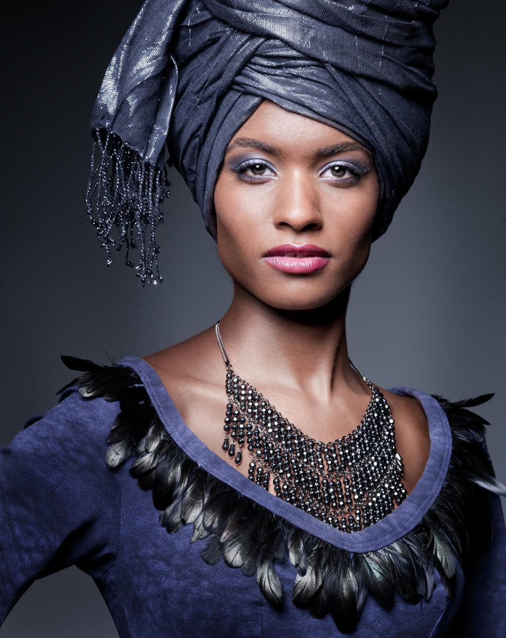 Studio Portrait Fotografie, Leonie, African Queen, Porträtfotografie, Zürich, Schweiz