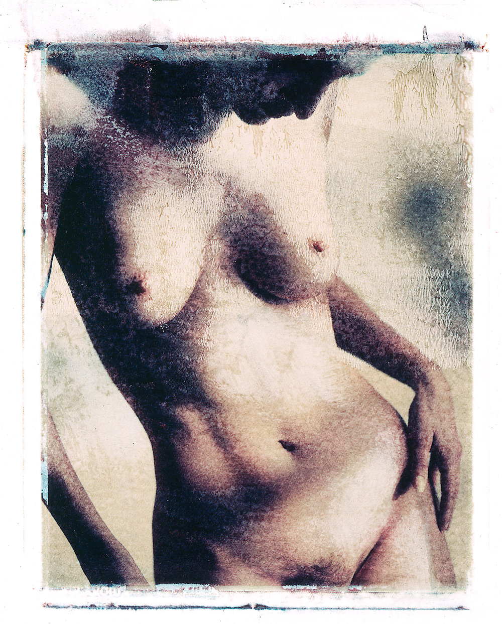 Studio Portrait Fotografie, Polaroids, Nude, Peoplefotografie, Porträtfotografie, Zürich, Schweiz