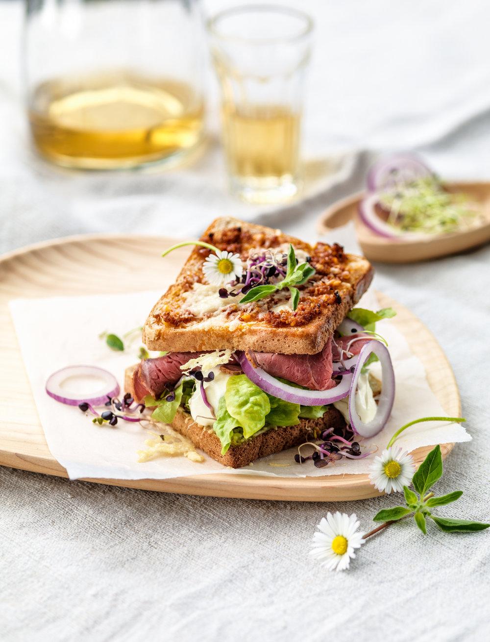 """Le Menu, Kochmagazin """"Toast Sandwich"""""""