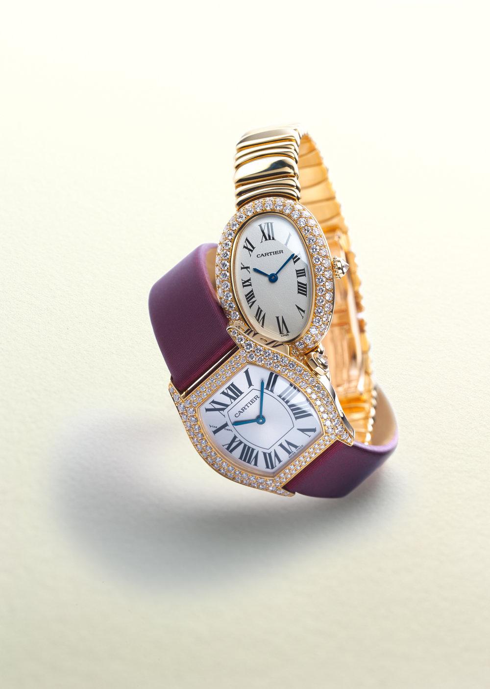 Cartier Uhren, Uhrenfotografie, Zürich, Schweiz