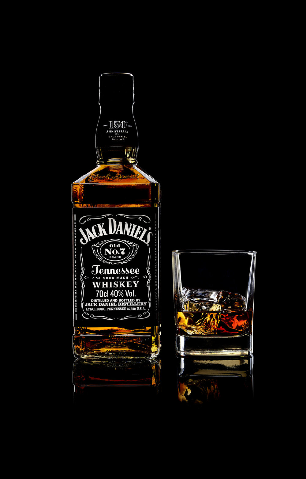 """Werbung, """"Tennessee Whisky"""""""