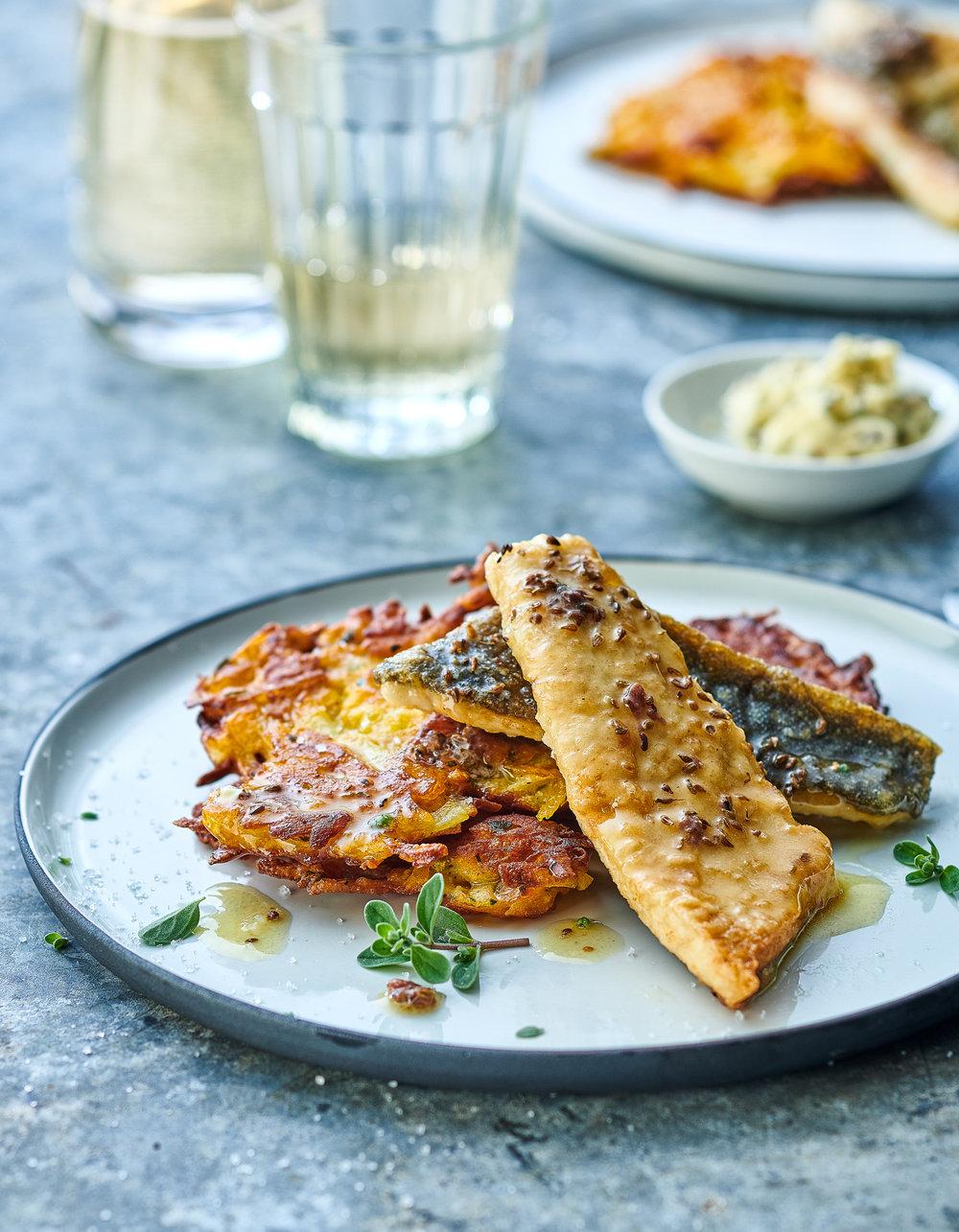 """Le Menu, editorielle Foodfotografie """"Fisch"""""""