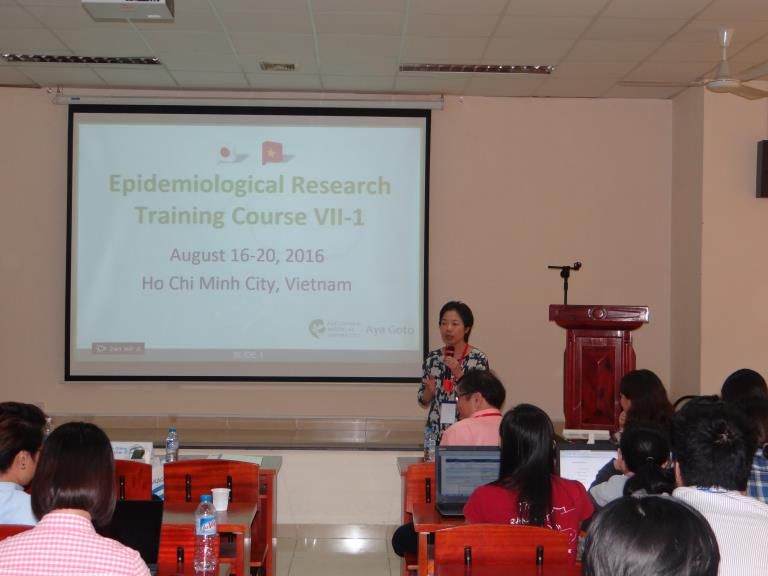 夏はベトナムで疫学研修 Epidemiology training for doctors in Vietnam