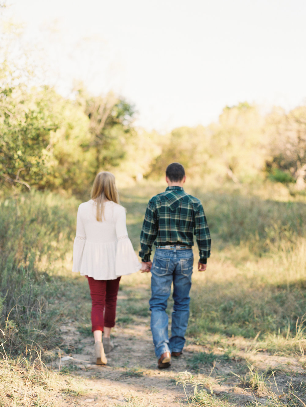 Dylan & Caitlyn | Fall Engagement Session | Britni Dean Photography - Film Engagement Photographer