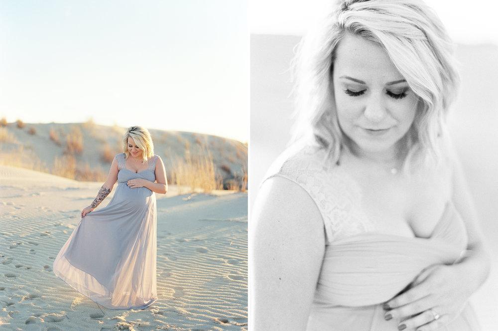 Sand Dunes Maternity Session | Monahans Sandhills State Park | Texas Maternity Photographer | britnidean.com