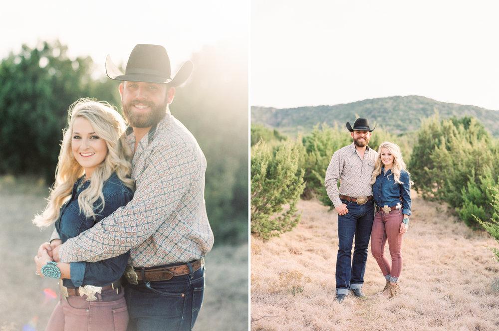 Sam & Stephanie | Abilene, Texas Engagement Session | Engagement Session with Texas Hills | Britni Dean Photography - Film Engagement Session | britnidean.com