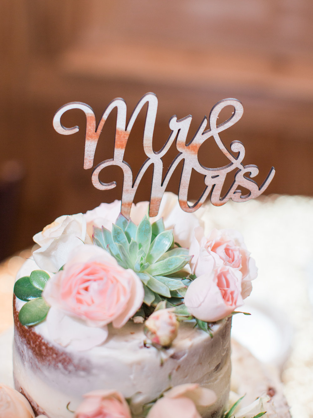 Hill Country Spring Wedding at Red Bud Hall | Austin Wedding Photographer | Film Wedding Photographer | Britni Dean Photography | Rainy Day Wedding Inspiration | succulent wedding cake