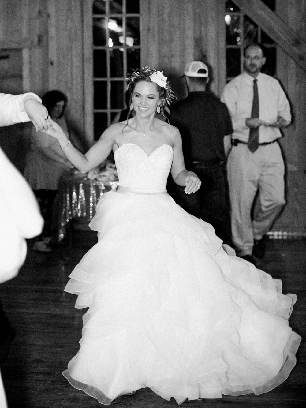 Hill Country Spring Wedding at Red Bud Hall | Austin Wedding Photographer | Film Wedding Photographer | Britni Dean Photography | Rainy Day Wedding Inspiration | fun wedding reception