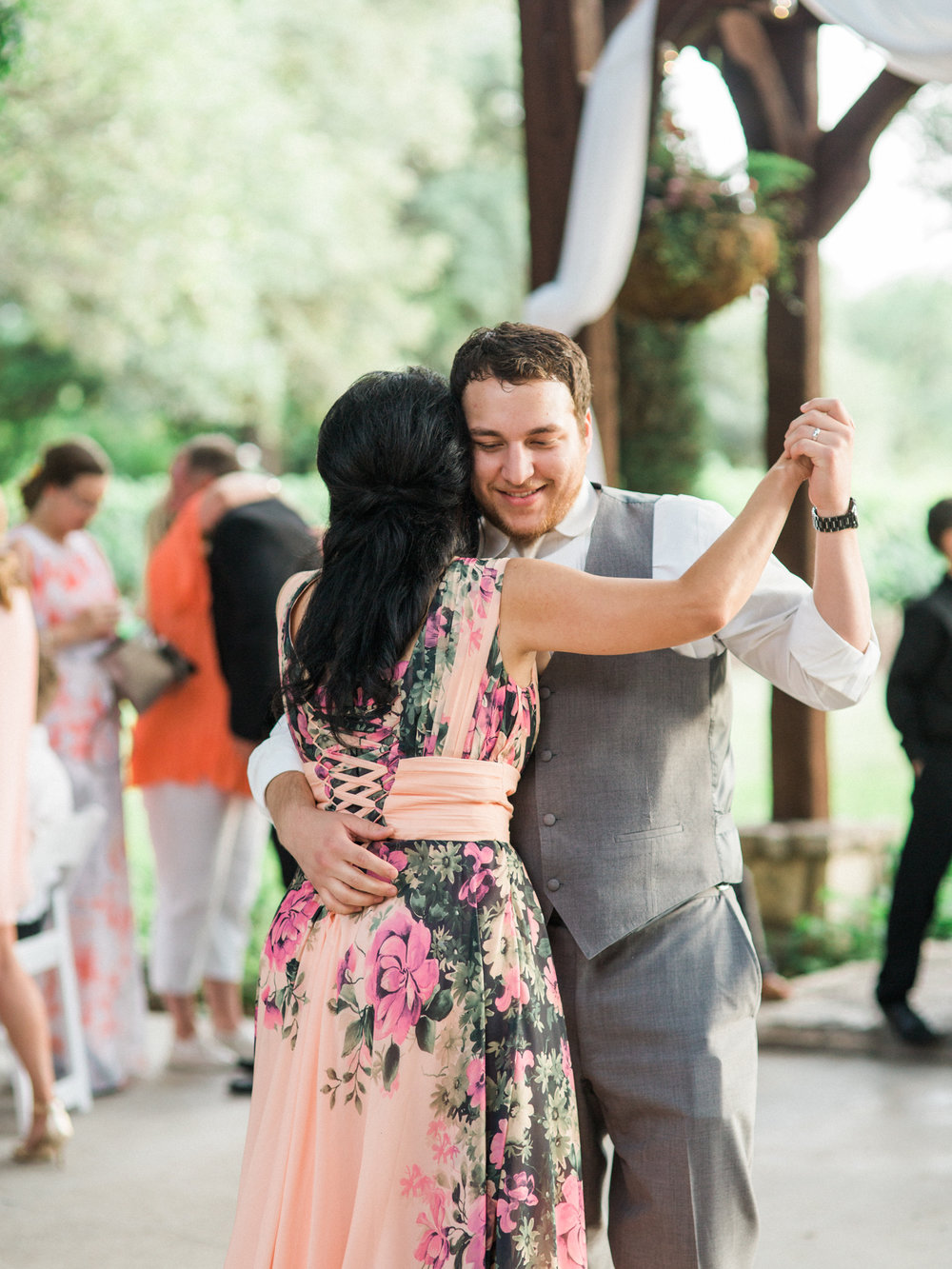 Elegant Spring Vineyard Wedding | Film Wedding Photographer | Austin Wedding Photographer | The Sweetest Mother Son Wedding Dance | Britni Dean Photography // britnidean.com