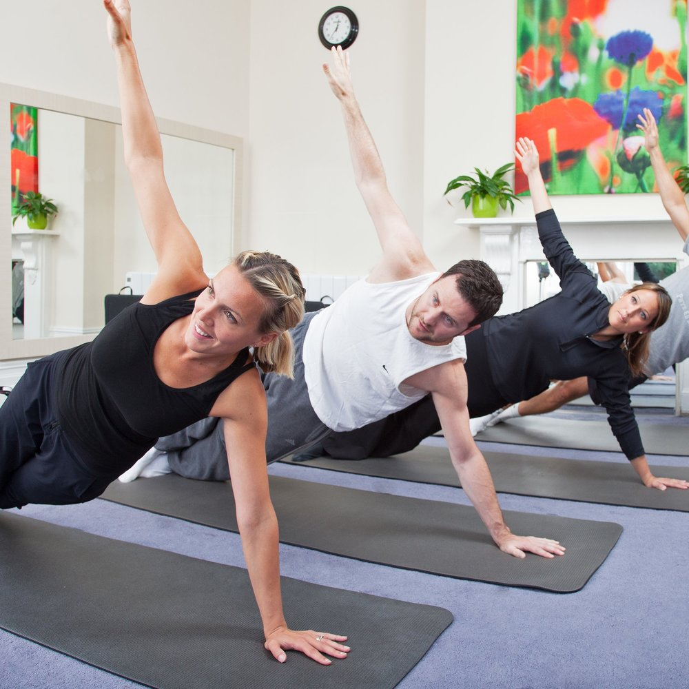 CLASSES  Physio led Pilates classes run for groups of 4 or 6. These classes are held in our studios and are very hands-on.  Stroke and Parkinsons classes are held regularly including physio led PD Warrior style groups.