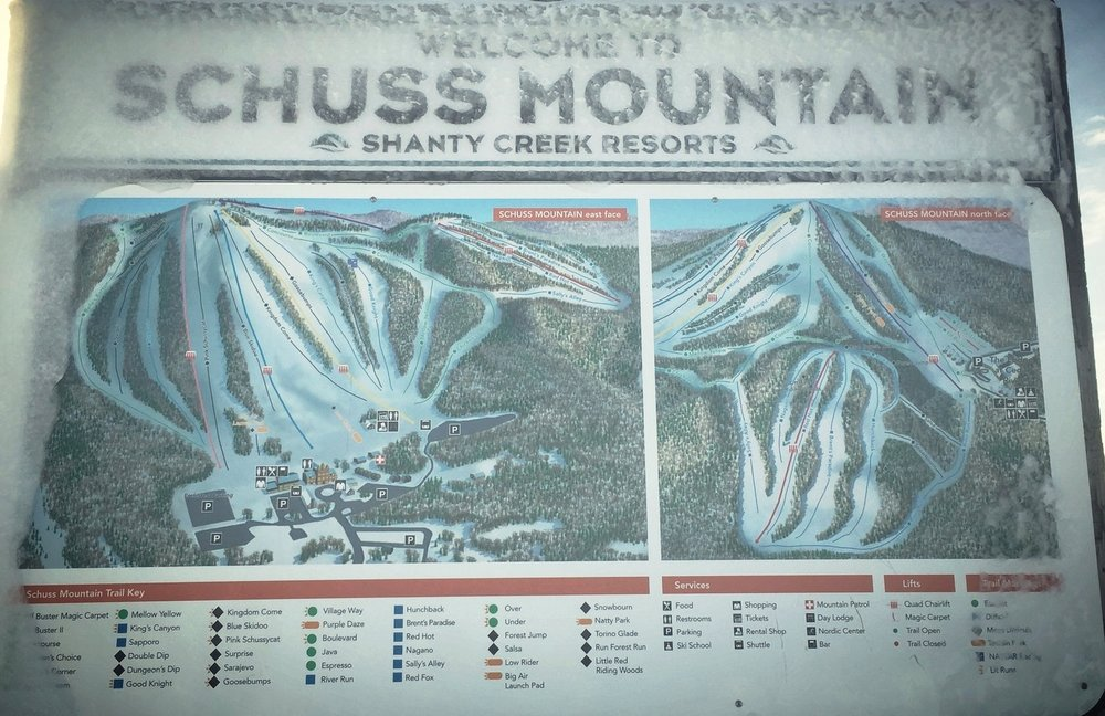 Shanty Creek Resort & Schuss Mountain