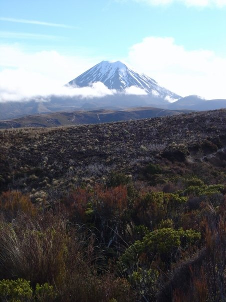 Mt. Doom doesn't look too scary now, does it? (Mt. Ngauruhoe, New Zealand, inspiration for the LOTR's movie adaptation of Mt. Doom)
