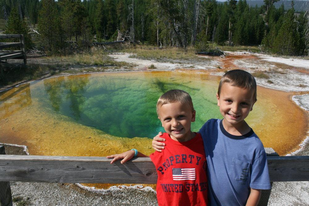 Morning Glory Pool, Yellowstone Nat. Park