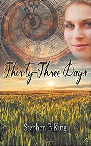 Traveling through time in  Thirty-Three Days . Can Jenny choose between saving the man she loves or saving the future?