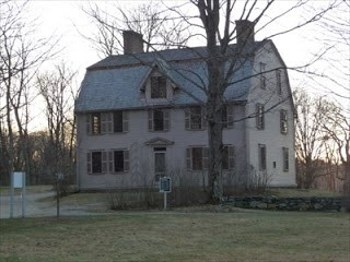 The Old Manse, the Hawthornes' first home as newlyweds.