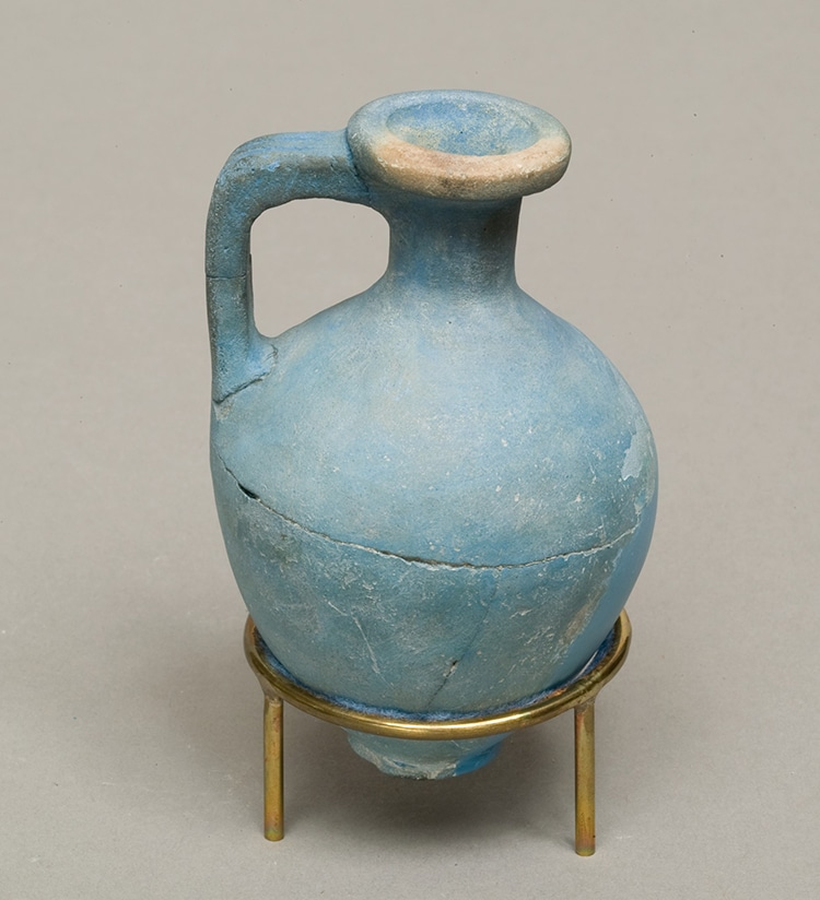 Egyptian Juglet, ca. 1750–1640 B.C. (Photo:   Met Museum   , Rogers Fund and Edward S. Harkness Gift, 1922. (CC0 1.0))