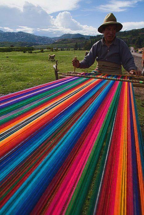 Rainbow weavers. Photo courtesy of marcoslocaladventures.com