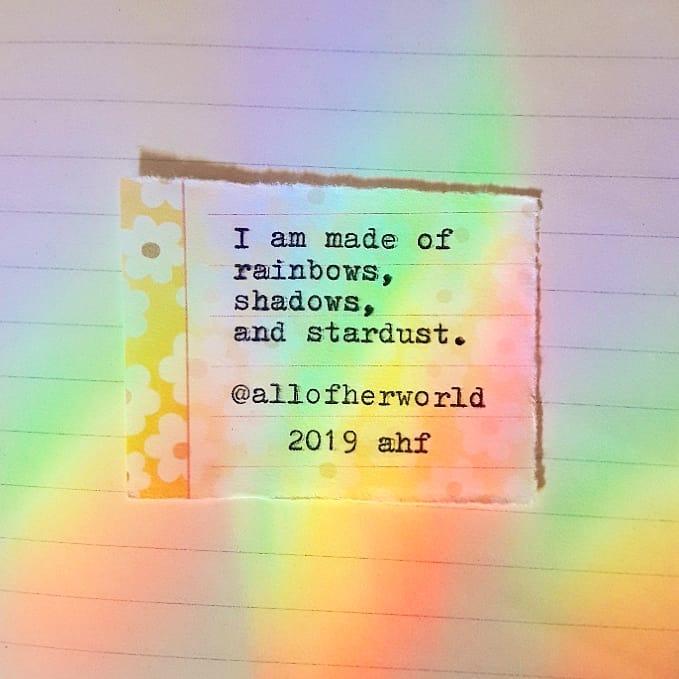 """""""Rainbow Stardust"""""""