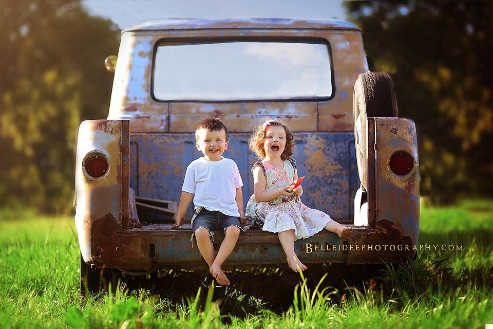 Buffalo Photographer for Twin Babies
