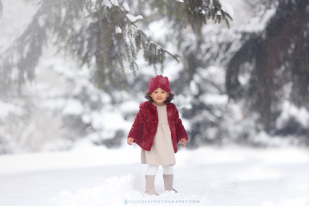 snowy buffalo, ny child photographer