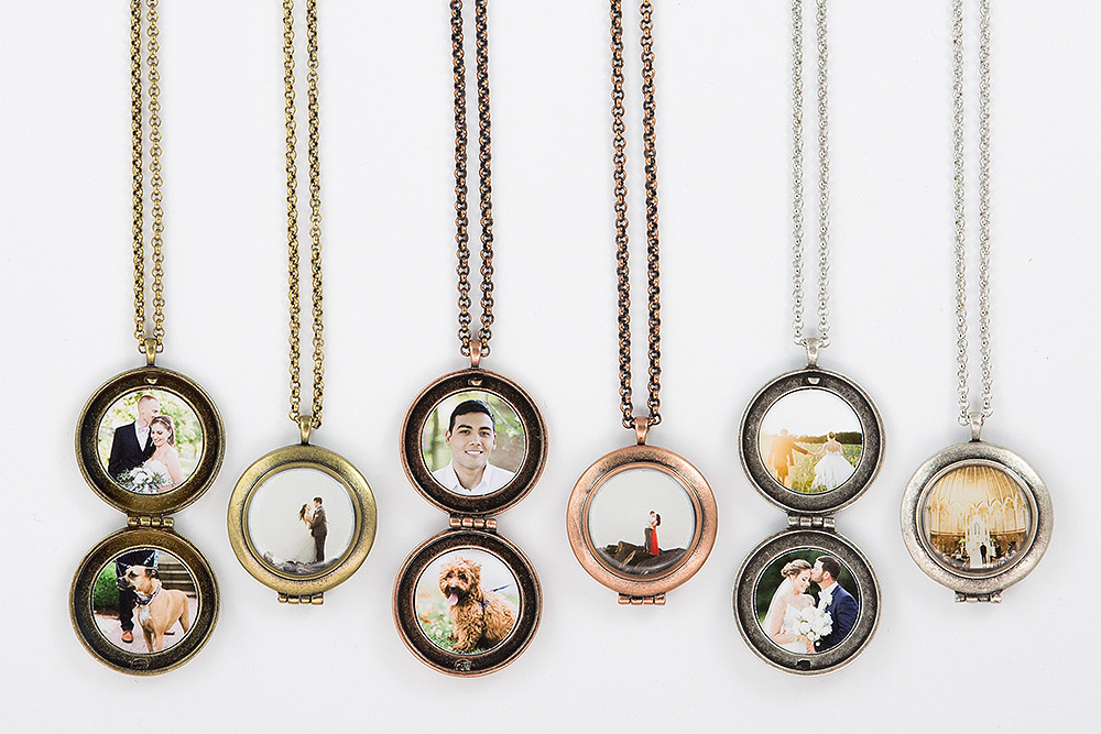 Lockets - Antique Silver, Gold, or Rose GoldChoose from 16