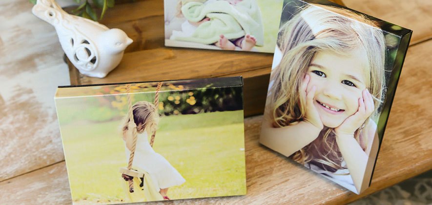 Canvas Trio - A set of 3 mini canvases that can be hung on the wall or displayed on a table. Choose from 6x6 or 5x7. These make wonderful gifts for grandparents or as another way to display your beautiful images.$125