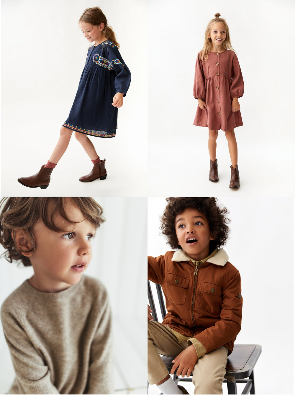 "Zara - This is possibly my favorite shop on this page. Love the color tones, love the simple ""vibe""….and really reasonably priced. (those dresses are only $39)"