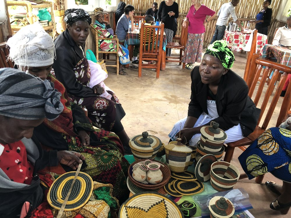 Our craft cooperatives are bringing hope to our women as they are starting small businesses and supporting their families.