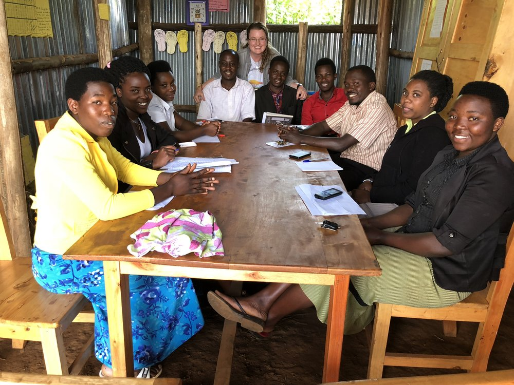 Some of our teaching staff at Nyanamo Seeds of Hope School