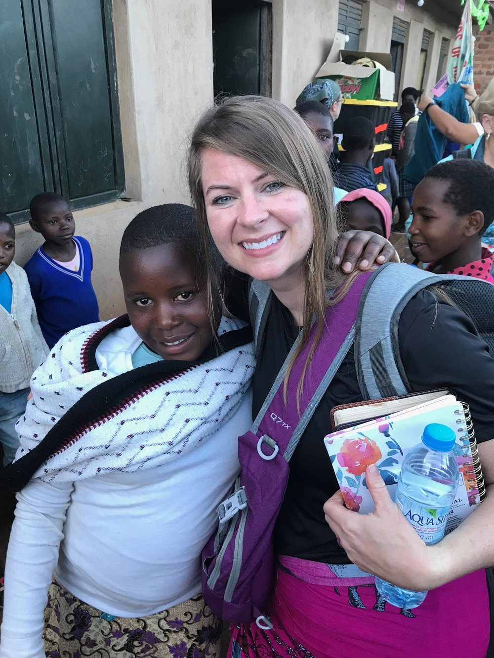 Grace was able to meet her favorite person…her sponsor!